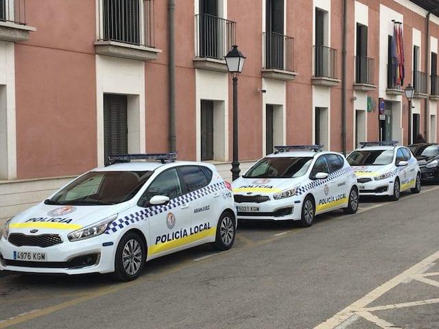 Policía de Aranjuez (16 Plazas) – 19/02 finalizado período de presentación de instancias