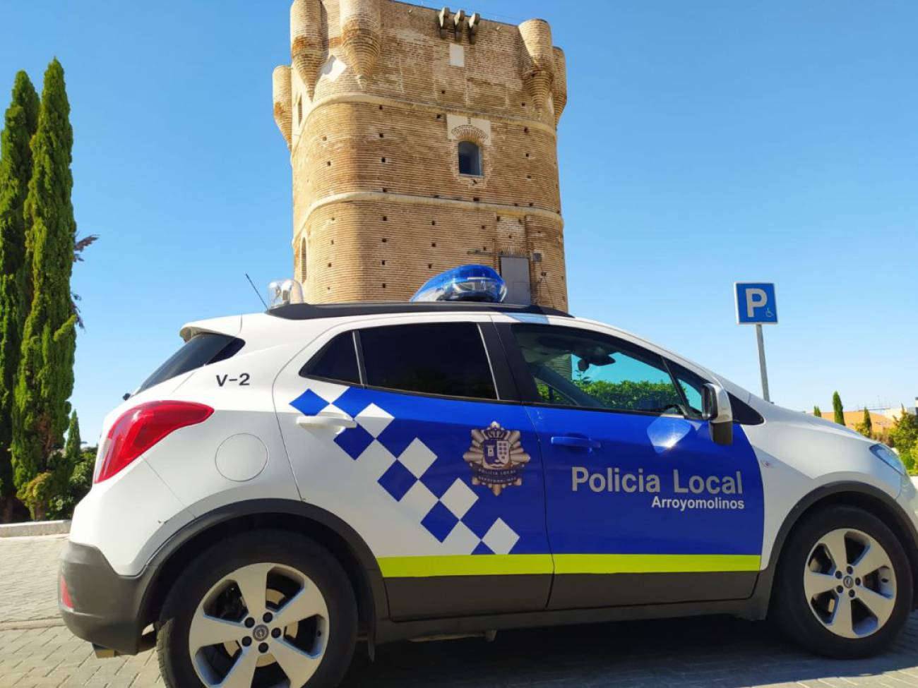 Patrulla de policía local de arroyomolinos