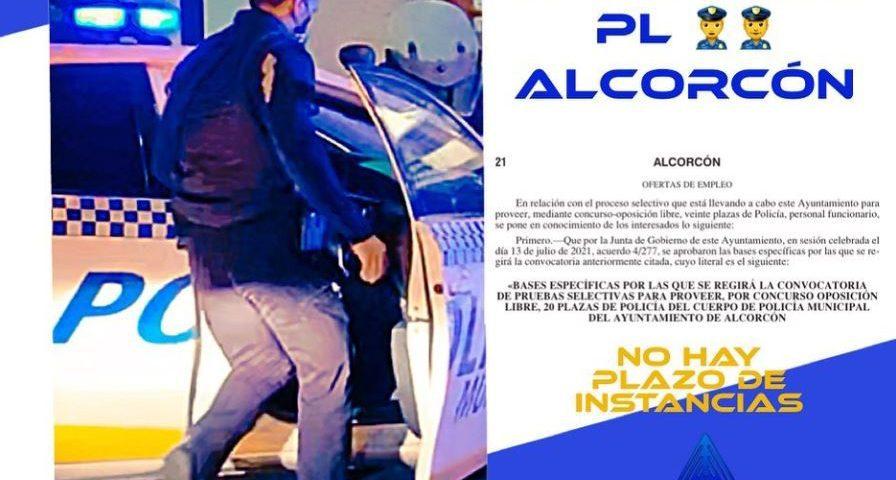 Policía de Alcorcón (20 Plazas OEP2020) – Bases publicadas