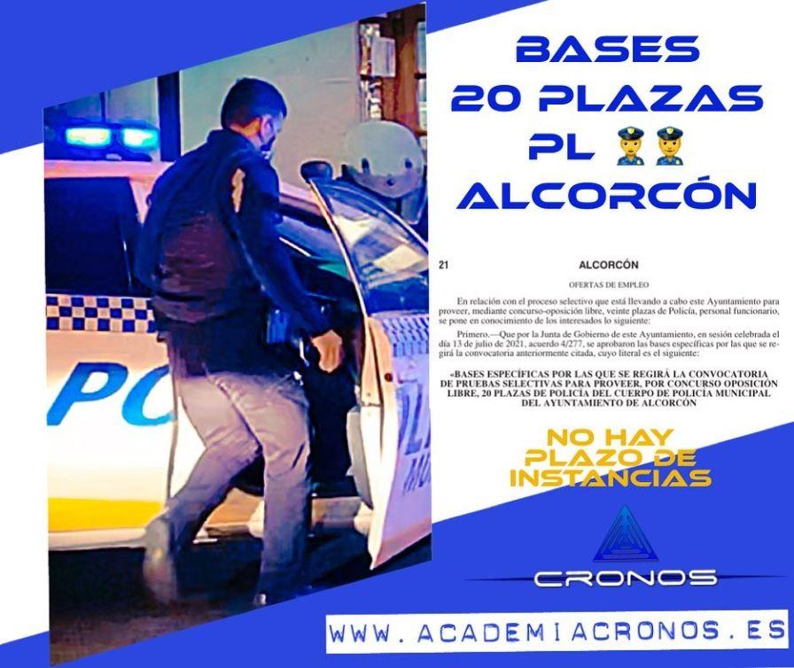 plazas de policía local de Alcorcón